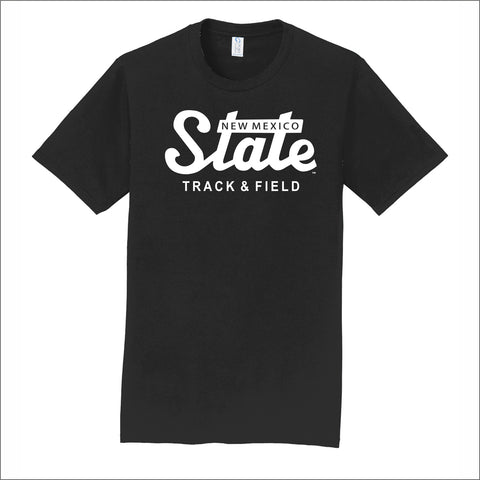 NMSU Track and Field State Unisex Cotton Tee