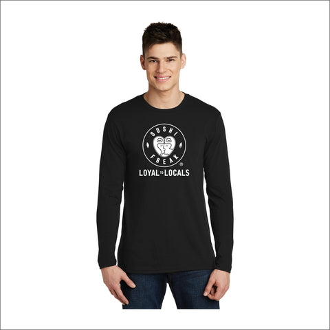 Sushi Freak Loyal To Locals Long-Sleeve Tee