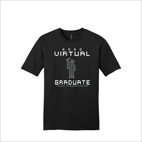 Virtual Graduate Tee (White Logo)