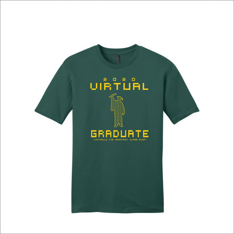 Virtual Graduate Tee (Gold Logo)