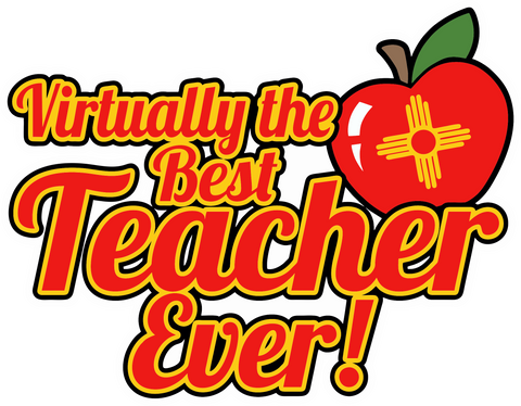 Virtually the Best Teacher Ever Decal (2 pack)