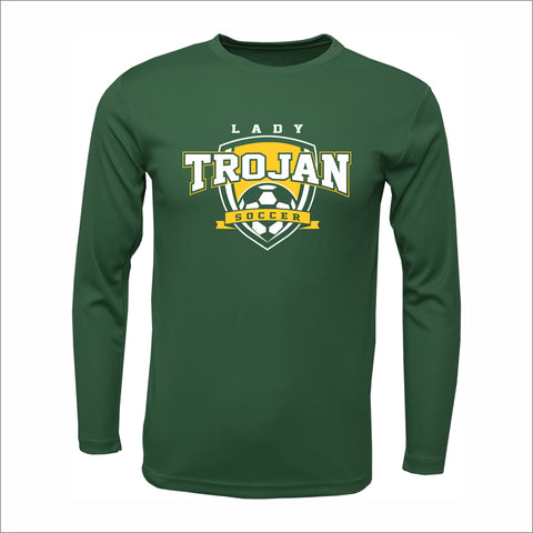 Mayfield Lady Trojans Soccer Long-Sleeved Performance Tee
