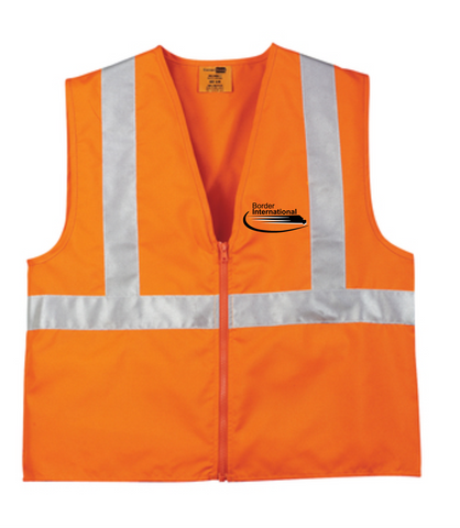 Border International ANSI 107 Class 2 Safety Vest