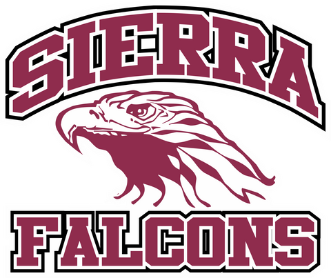 Sierra Falcons Decal