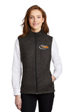 Border International Ladies Sweater Fleece Vest