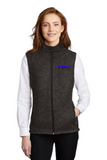 Idealease Ladies Sweater Fleece Vest