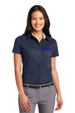 Idealease Ladies' Easy Care Full-Button Shirt