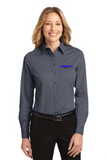 Idealease Ladies' Long-Sleeve Easy Care Full-Button Shirt