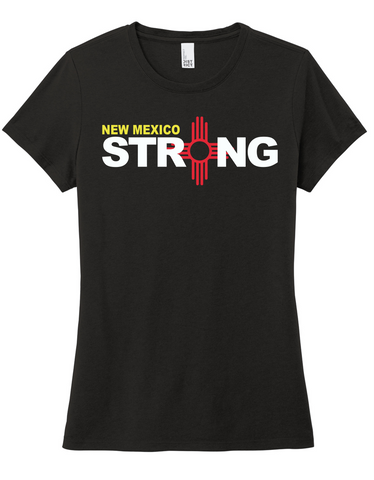 New Mexico Strong Ladies' Tri-Blend Tee