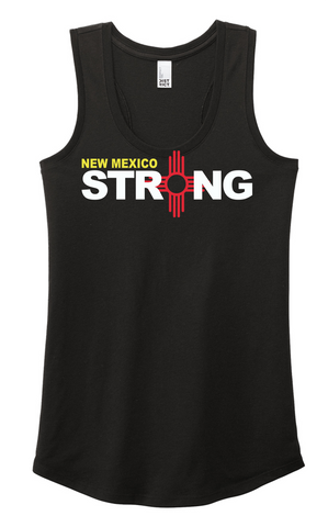 New Mexico Strong Ladies' Racerback Tank