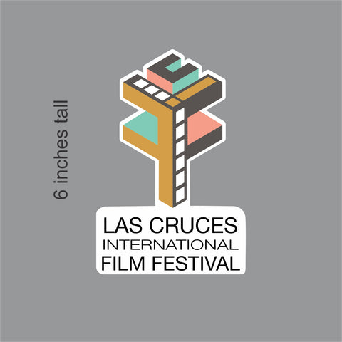 Las Cruces Film Festival LCFF Logo Decal