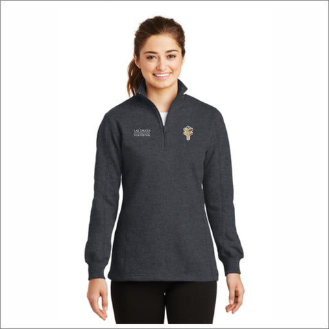 Las Cruces Film Festival Ladies' 1/4-Zip Sweatshirt