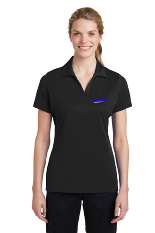 Idealease Ladies' Racermesh Polo