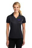 Idealease Official Uniform Ladies' Side Blocked Micropique Performance Polo