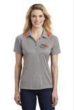 Border International Official Uniform Ladies' Heather Colorblock Performance Polo