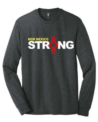 New Mexico Strong Tri-Blend Long-Sleeve Tee