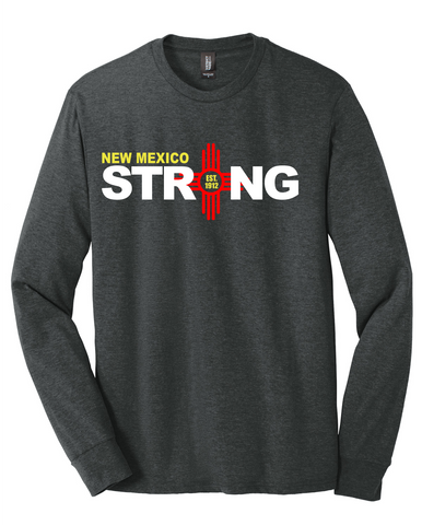 New Mexico Strong EST Tri-Blend Long-Sleeve Tee