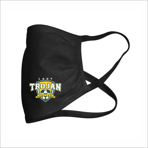 MHS Lady Trojans Soccer Cotton Facemask