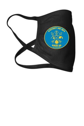 Cub Scouts Pack 68 Cotton Facemask