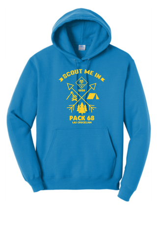 Cub Scouts Pack 68 Pullover Hoodie