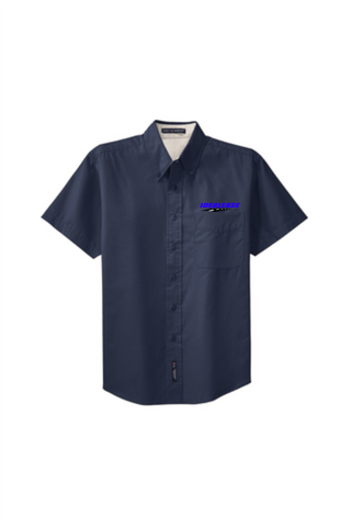 Idealease Easy Care Full-Button Shirt