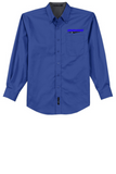Idealease Long-Sleeve Easy Care Full-Button Shirt