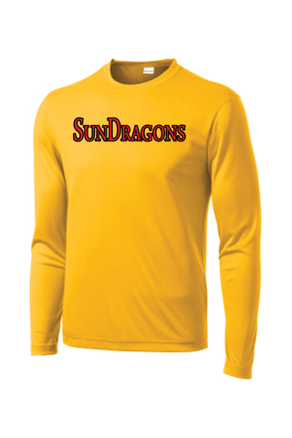 SunDragons Long-Sleeve Performance Tee