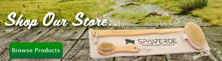 SpaVerde Dry Brushing Body Brush
