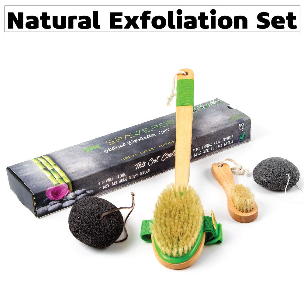 natural exfoliation set