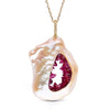 Grotto Collection Ruby Pendant