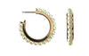 Petite Collection Pearl Hoop Earrings
