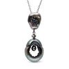 Tahitian Grotto Black Diamond Pendant