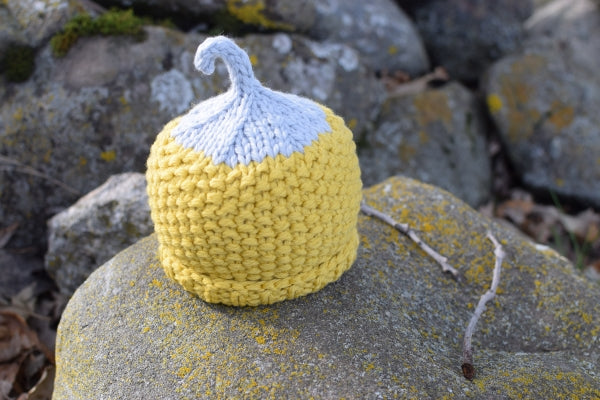 Yellow Squash Chunky Harvest Hat