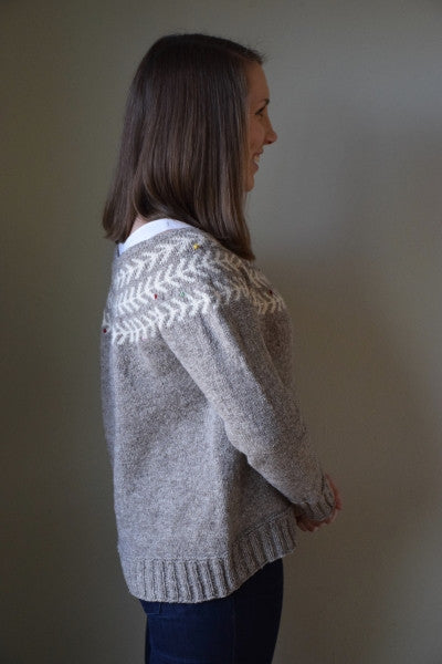 eb99745fb9f5a Adding Short Rows to your Sweater – Barrett Wool Co.