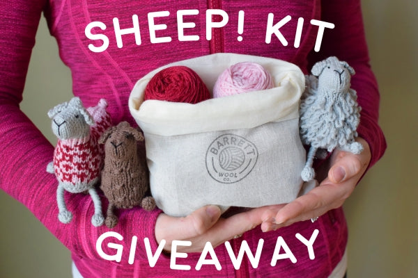 Sheep! Kit Giveaway