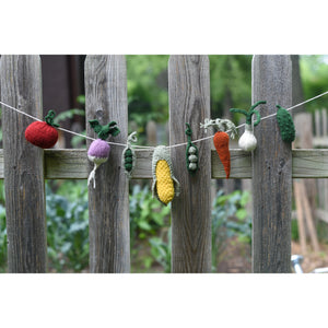 Summer Veggie Charm Set