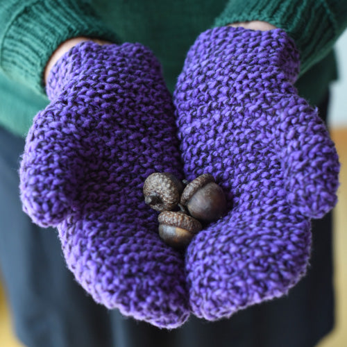 Counting Ridges Mittens
