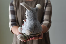 Christopher Bunny's Garter Hoodie + Tiny Bunny Pattern