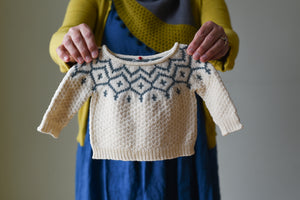 Snowfall Sweater & Leia Bonnet Kit