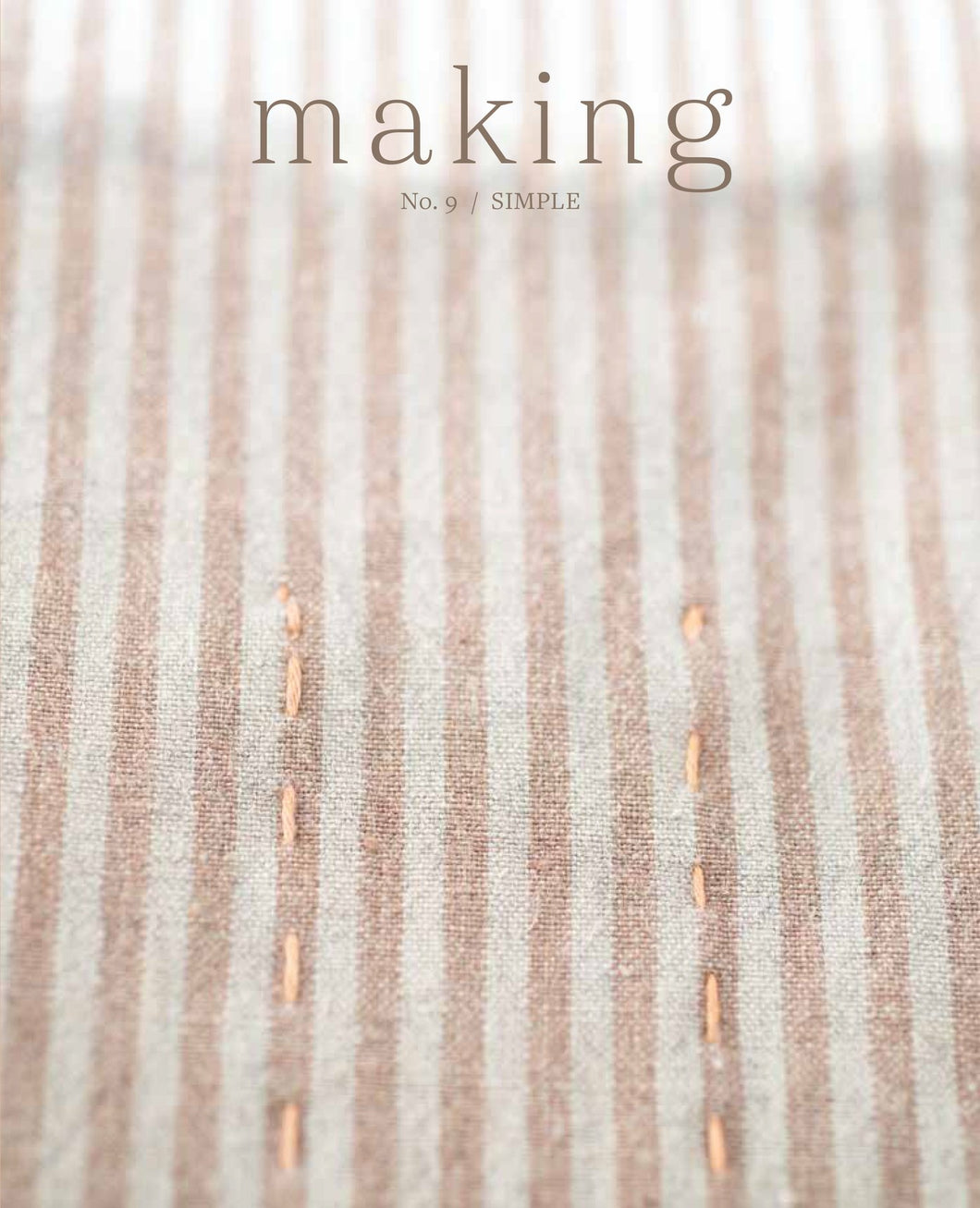 Making Magazine No. 9 / SIMPLE