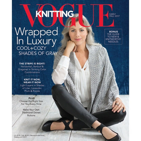 Vogue Knitting 2017 Early Fall