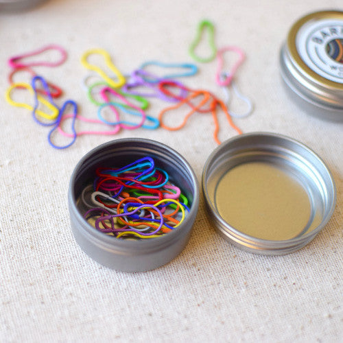 Barrett Wool Co. Stitch Marker Tins