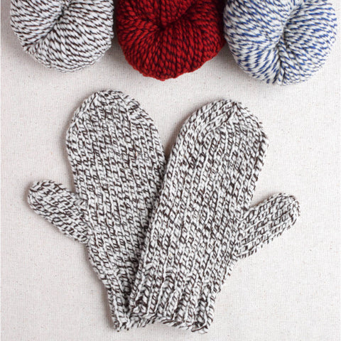 Waiting For Winter Bulky Mittens Pattern