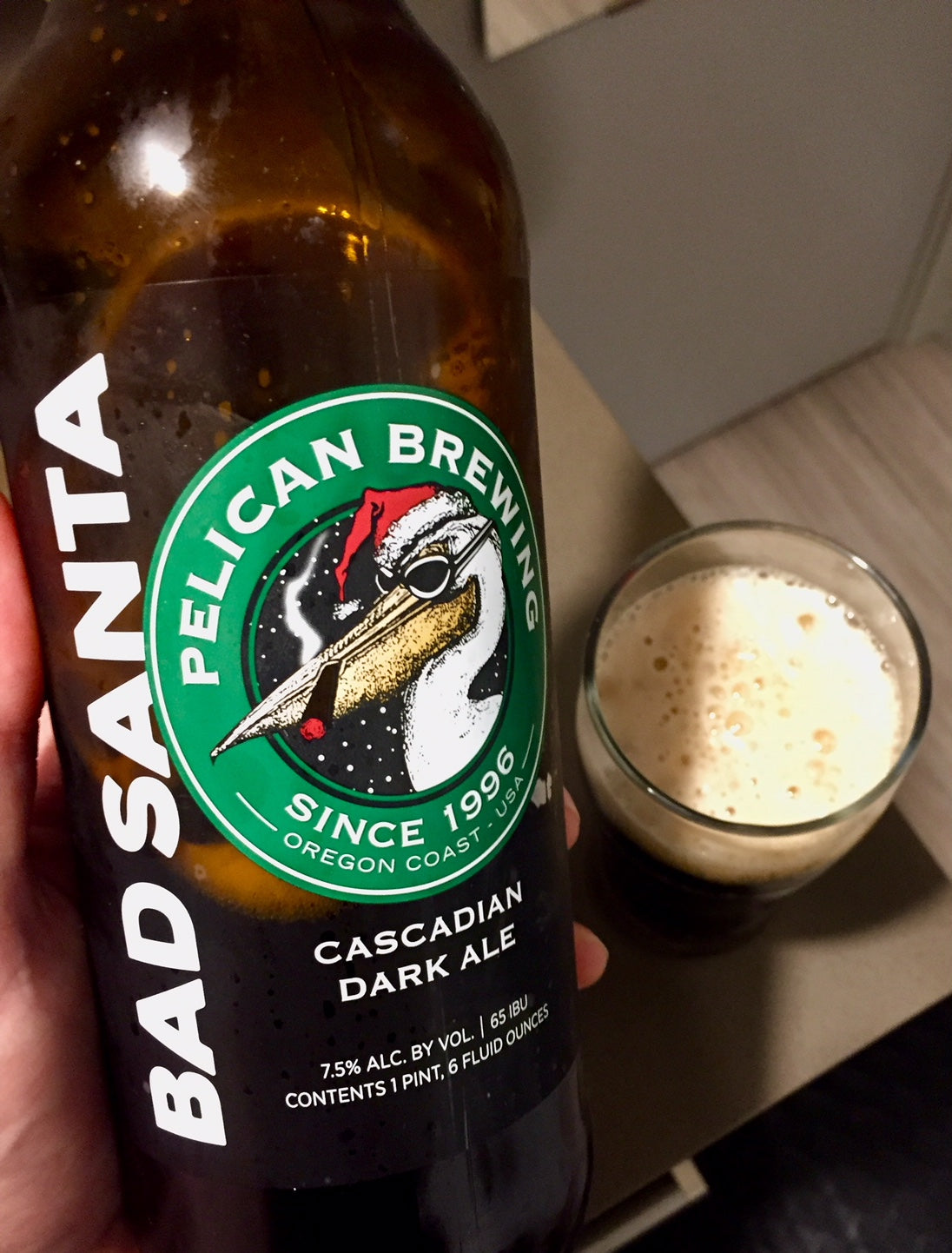 Pelican Brewing Bad Santa Cascadian Dark Ale