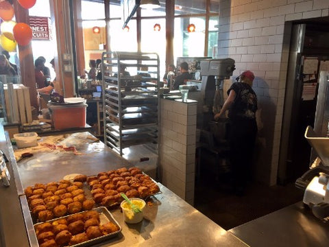 Kitchen of Honest Biscuits in Pike Place Market