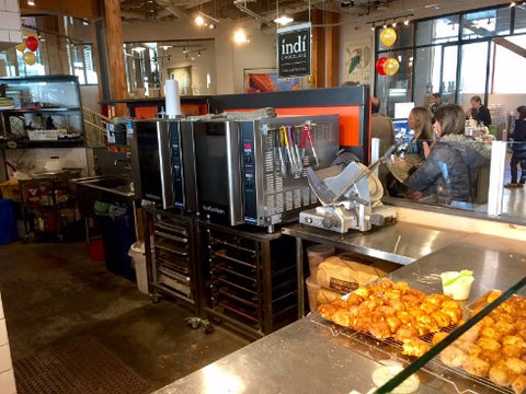 Another Kitchen Scene at Honest Biscuits at Pike Place Market