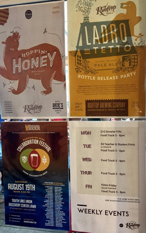 Rooftop Brewing Co Posters