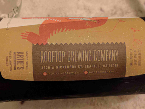 Rooftop Brewery Braggot Ale Review