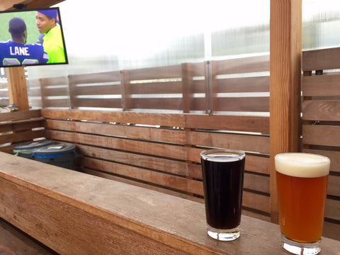 Rooftop Brewing Co Seahawks Game