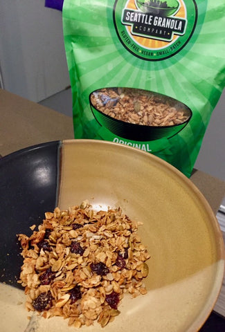 Seattle Granola Company Bowl of Granola